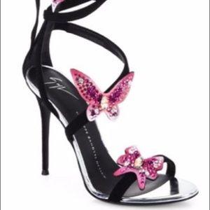 GIUSEPPE ZANOTTI size 38 heel **